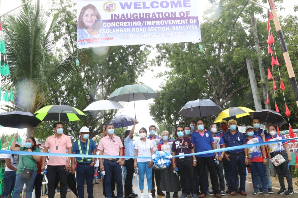 P200M worth of road projects inaugurated in Bantayan Island