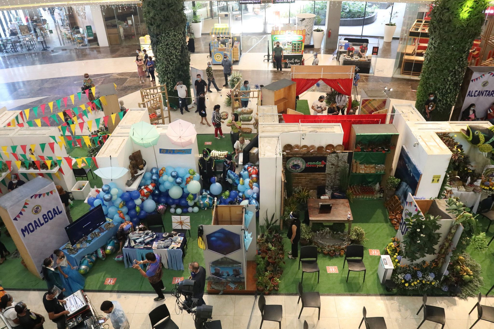 Town products on display at Robinsons Galleria