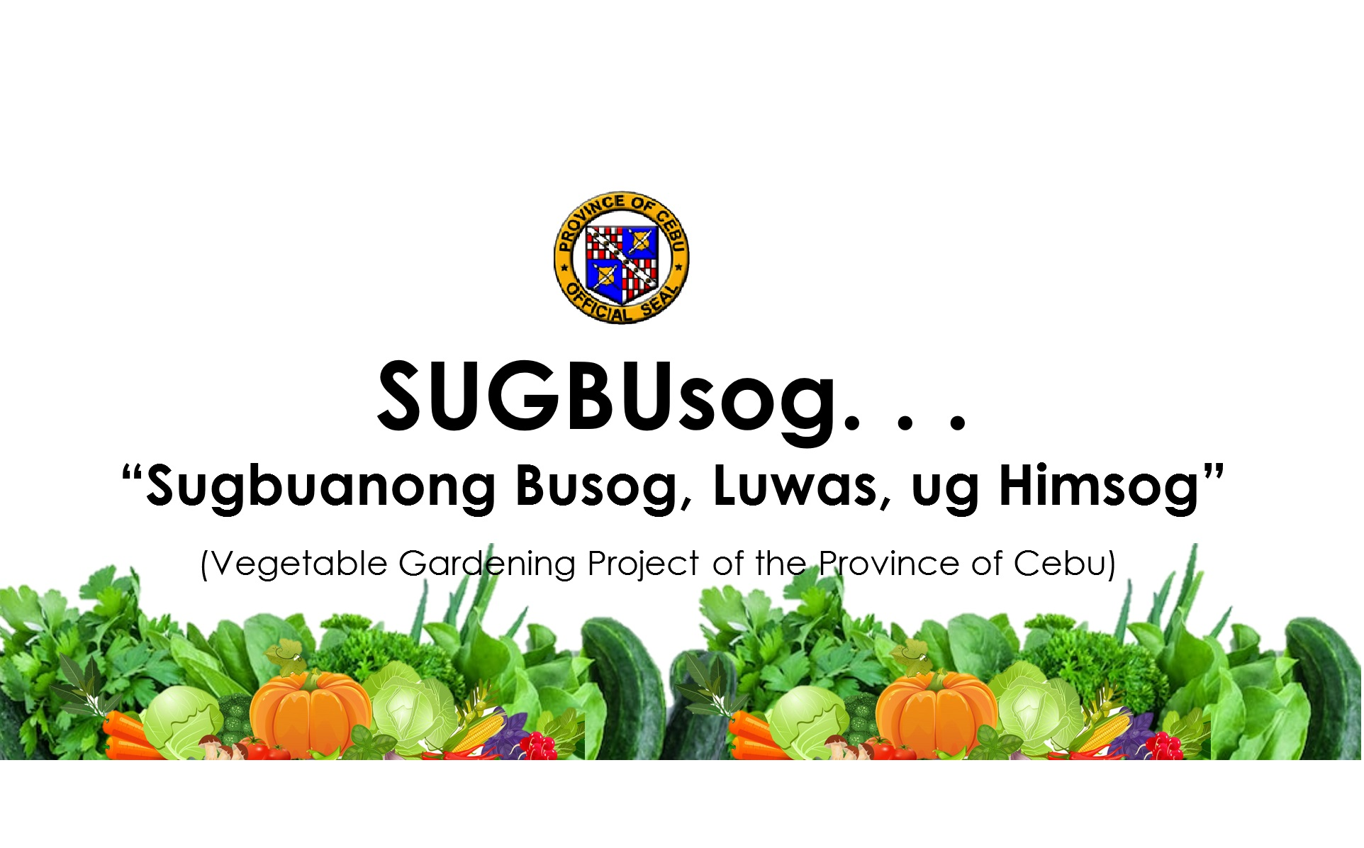 Awarding of SUGBUsog Round 2 set on May