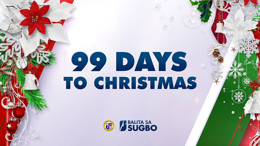 IT IS 99 DAYS TO CHRISTMAS